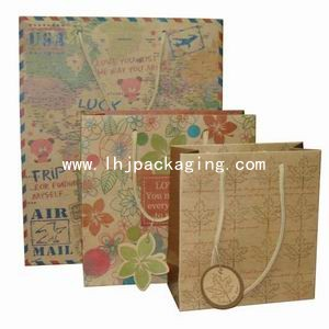 shopping bag, gift paper bag, cosmetic paper bag