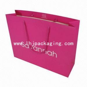 gift paper bag, shopping bag, christmas paper bag